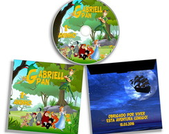 Dvd ou Cd personalizado Peter Pan