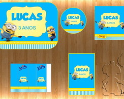 Arte Kit Digital - Minions