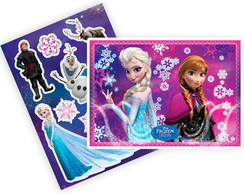 Painel kit decorativo Frozen