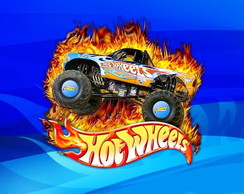 Papel Arroz A4 Hot Wheels 2