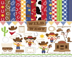 Kit Digital - Cowboy (+ Papel digital) 5