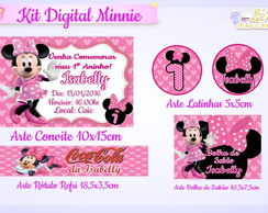 Kit Digital Minnie Rosa!!