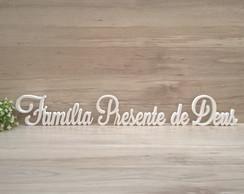 Frase Familia Elo7