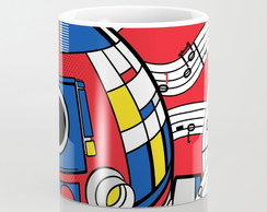 Caneca R2D2 Pop Art Abstract