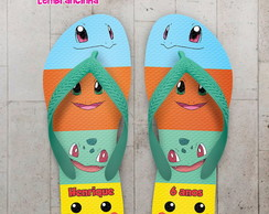 Chinelo Infantil Estampa Pokemon