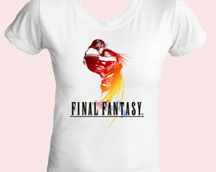 Camiseta babylook Final Fantasy 07