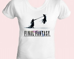 Camiseta babylook Final Fantasy 09