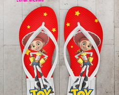 Chinelo Personalizado Toy Story Infantil