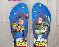 Chinelo Infantil Personalizado Toy Story
