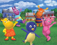 Convite animado backyardigans