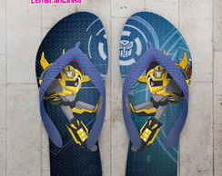 Chinelo Infantil Transformers Bumblebee