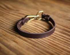 Pulseira Leather Fine
