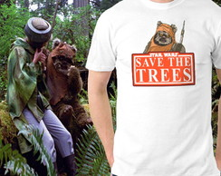 Camiseta Star Wars Eco Ewoks - Ecologia