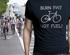 Camiseta Burn Fat - Bicicleta Bike