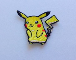 PATCH BORDADO PICACHU TERMOCOLANTE