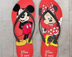 Chinelo Infantil Mickey e Minnie