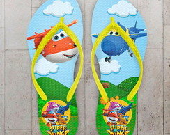 Chinelo Infantil Tema Super Wings