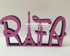 LETRAS DE MDF DECORATIVAS - FESTA PARIS