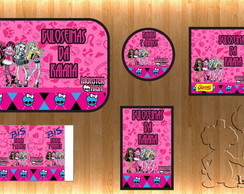 Kit Festa Impresso - Monster High