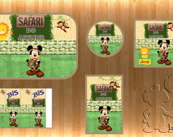 Kit Digital - Safari Do Mickey