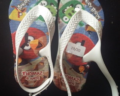 Chinelo infantil Angry Bord