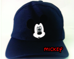 Boné personalizado do Mickey 3