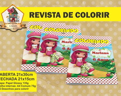Revista Para Colorir MORANGUINHO