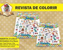 Revista Para Colorir Brinquedos