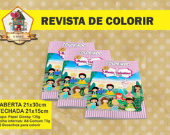 Revista Para Colorir PRINCESAS CUTE