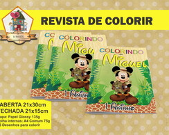 Revista Para Colorir MICKEY