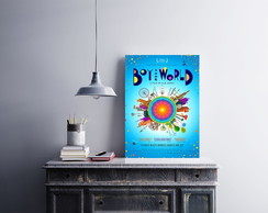 "Placa decorativa ""Filme Boy & the World"""