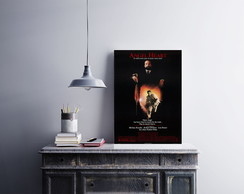 "Placa decorativa ""Filme Angel Heart"""