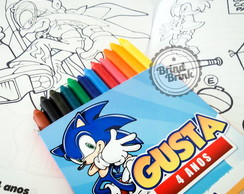Sonic Kit Colorir + lapela