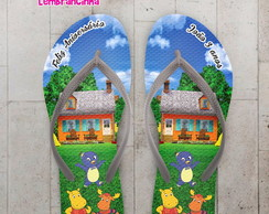 Chinelo Infantil The Back Yardigans