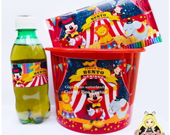 Kit Cinema Circo do Mickey personalizado