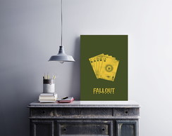 "Placa decorativa ""Fallout"""