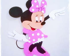Painel Minnie Rosa