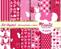 Kit Papel Digital Minie