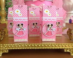Caixa Milk da Minnie Princesa scrap 3D