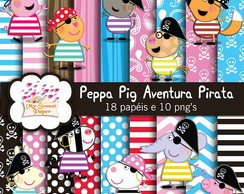 Kit digital Peppa Aventura Pirata