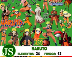 Kit Digital Scrapbook NARUTO
