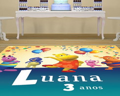 TAPETE INFANTIL - OS BACKYARDIGANS