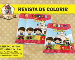 Revista Para Colorir BRANCA DE NEVE CUTE
