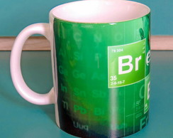 Caneca Breaking Bad Porcelana