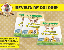 Revista Para Colorir SAFARI