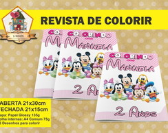 Revista Para Colorir DISNEY BABY