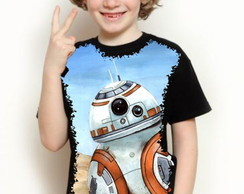 CAMISETA STAR WARS- BB8