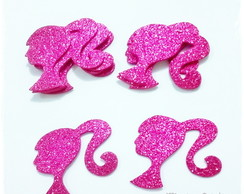 Aplique Barbie Glitter