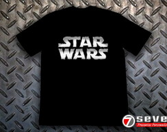 Camiseta Star Wars - Prata