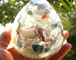 Orgonite Transparente